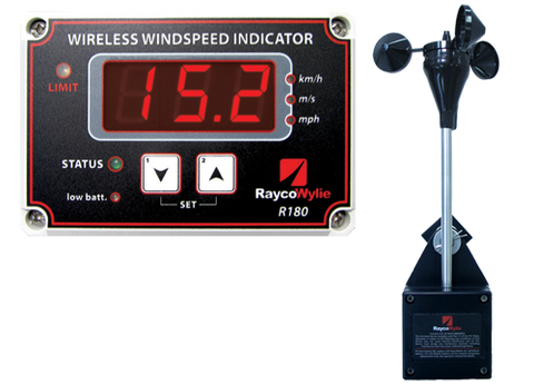 Rayco-Wylie R180 Wireless Windspeed System