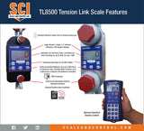 Intercomp TL8500 Tension Link Scale features