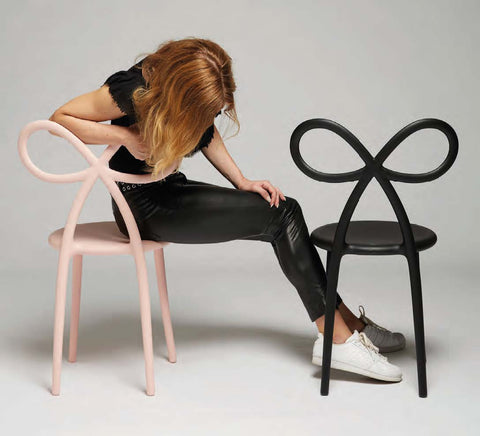 RIBBON CHAIR Sedia by Qeeboo