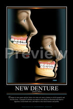 Load image into Gallery viewer, New Denture Wall Chart
