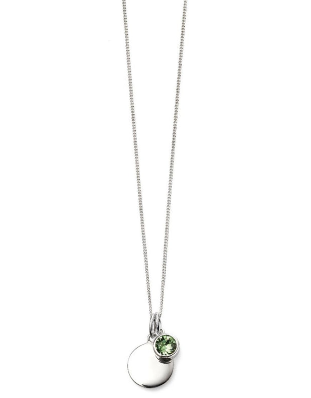 August Birthstone Pendant - Peridot
