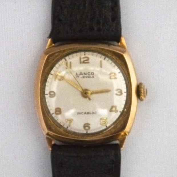 V15 9ct Gold Swiss Watch