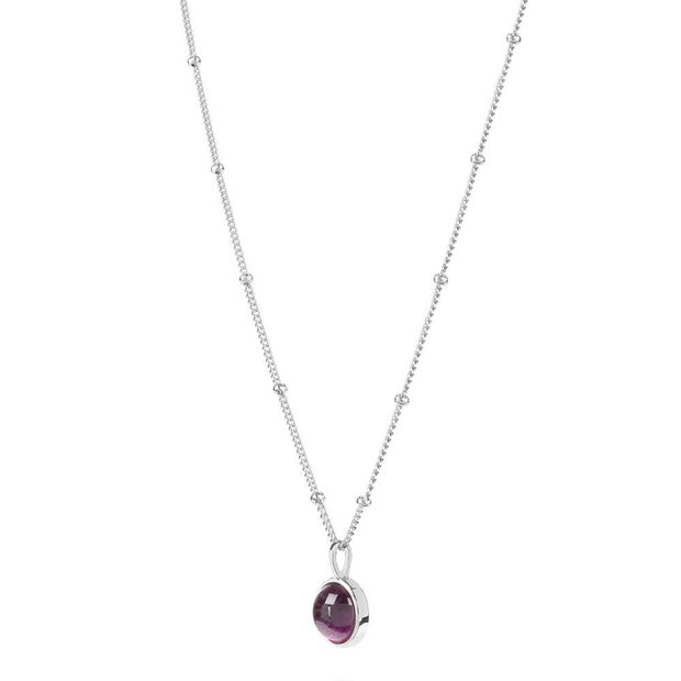 Amethyst Healing Stone Necklace