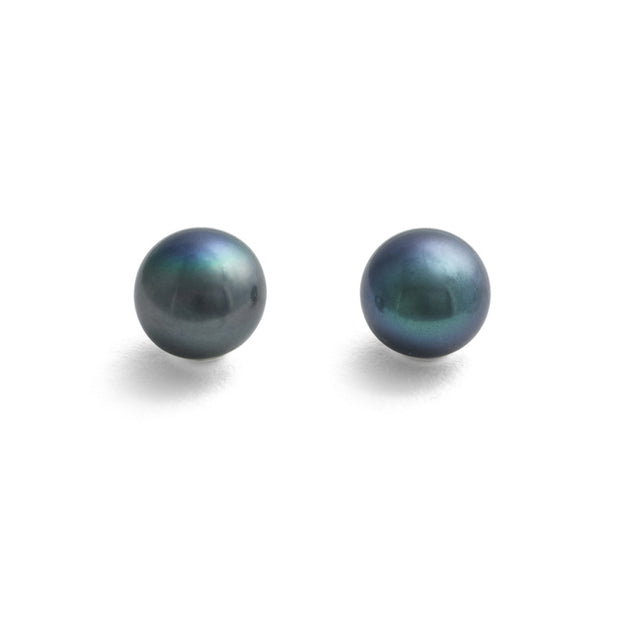 Classic Stud 10-11mm Peacock
