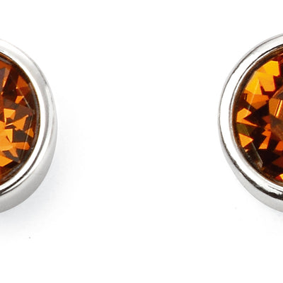 November Birthstone Studs - Topaz