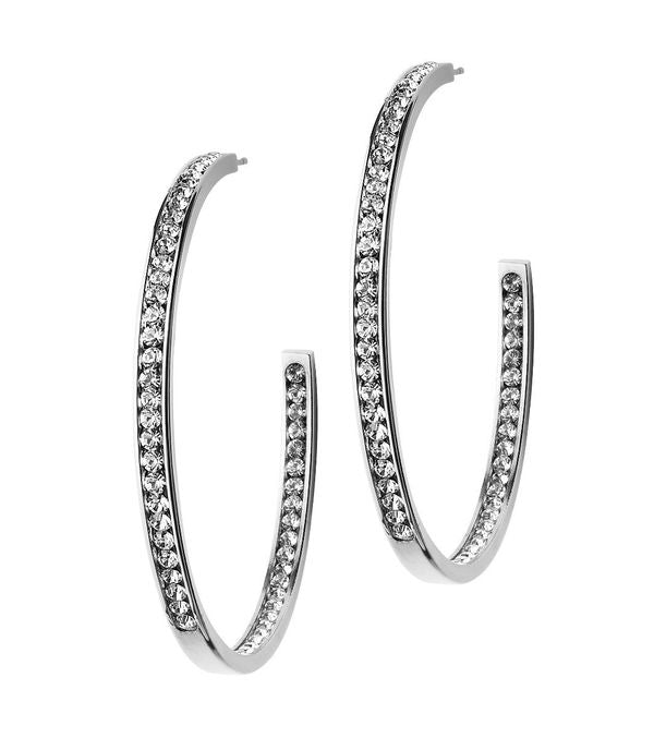 Andorra Large Stainless Steel earrings - Edblad