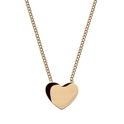 Edblad Pure Heart Necklace Gold Plate