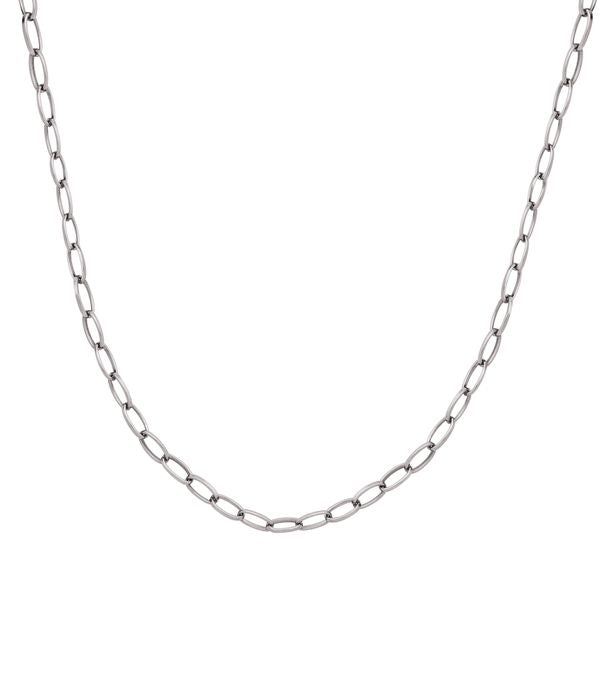 Chain Linked 50cm with Lock & Key Steel necklace - Edblad