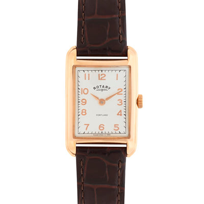 Rotary ladies Portland Rose Gold watch