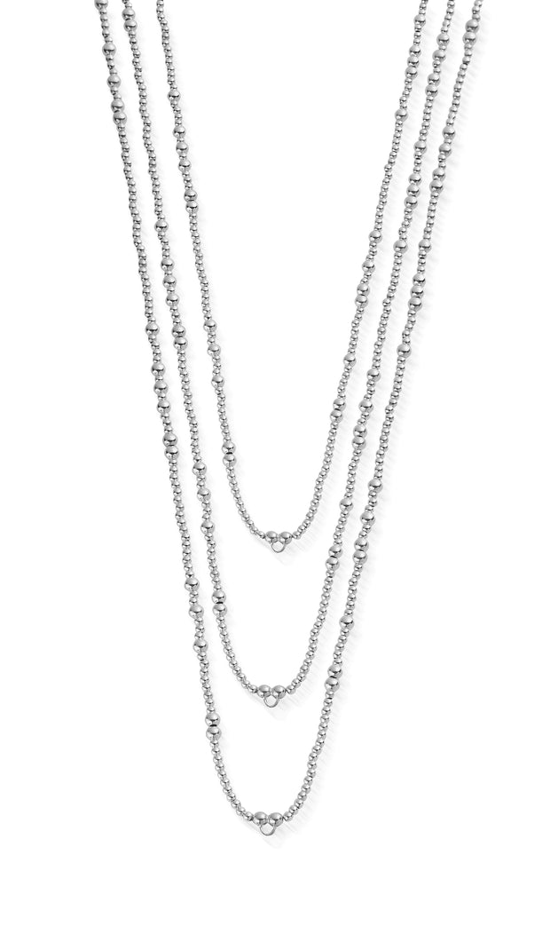 Sterling Silver random necklace L2 - ChloBo