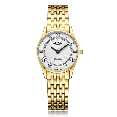 Rotary Ultra Slim Gold plated Watch