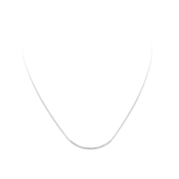 Pave set Necklace