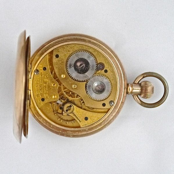 V11 Rolled Gold Pocket Watch