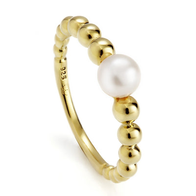 Jersey Pearl Coast Yellow Gold ring
