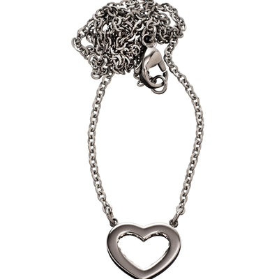 Edblad Monaco heart short necklace in steel