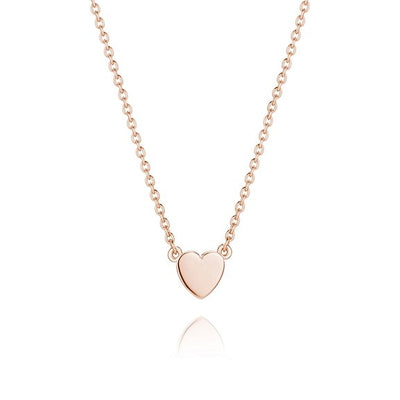 Daisy Little Heart Good Karma Necklace