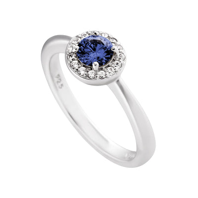 Royal Colours Ring Sapphire Blue