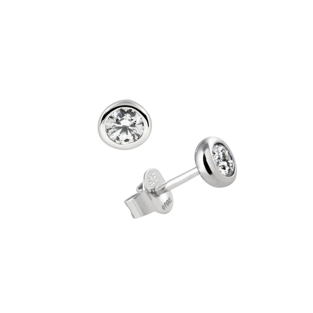 Carats Rubover 0.25ct studs