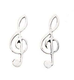 Children's Sterling musical note Stud - Penmans