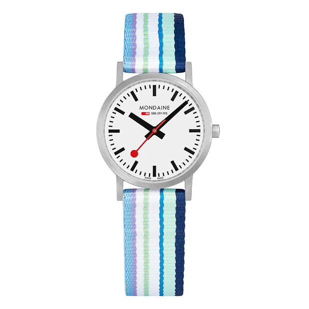 Mondaine Summer Stripes Essence Watch