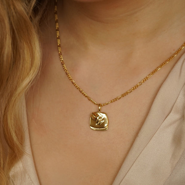 Alexa Necklace - 18ct Gold Plate - Daisy London