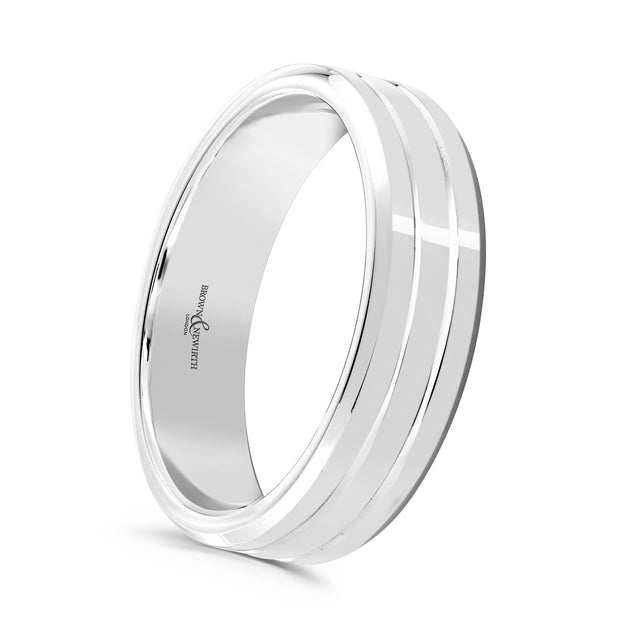 B&N Artemis Wedding Band