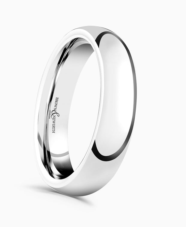 B&N Always Wedding Ring 5mm