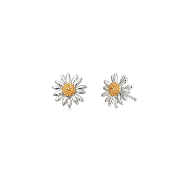 English Daisy 10mm Stud Earrings