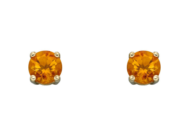 November Birthstone - Citrine & Gold