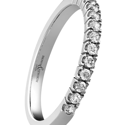 B&N Exquisite Half Eternity Ring