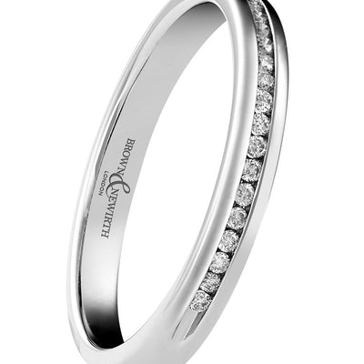 B&N Elegance Half Eternity Ring