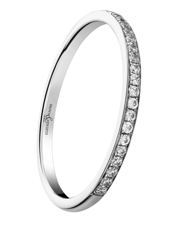 B&N Sweetheart Half Eternity Ring