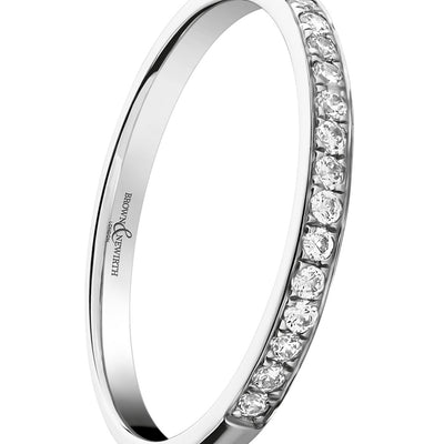B&N Half Eternity Ring