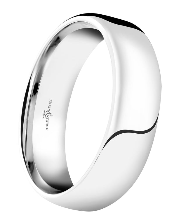 B&N Honest Wide Wedding Band 6mm
