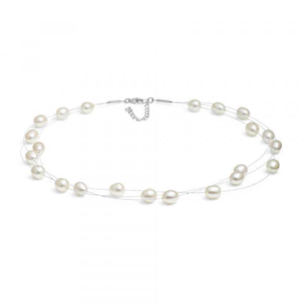 Dew Drop Pearl Necklace - Jersey Pearl