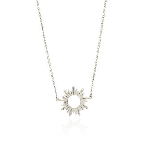 Electric Goddess Sterling Silver Necklace - Rachel Jackson