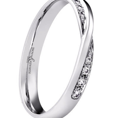 B&N Sirius Wedding Band