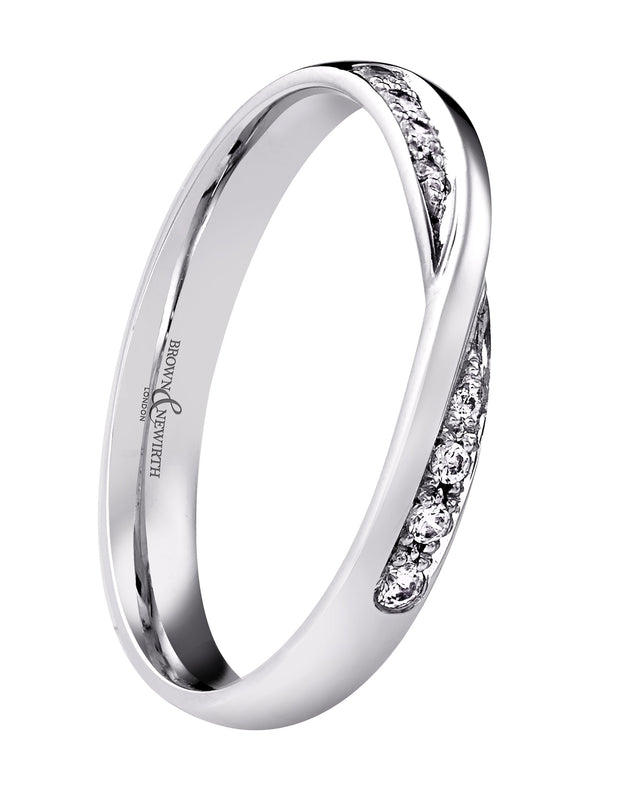 B&N Sirius Wedding Band - Size N Only