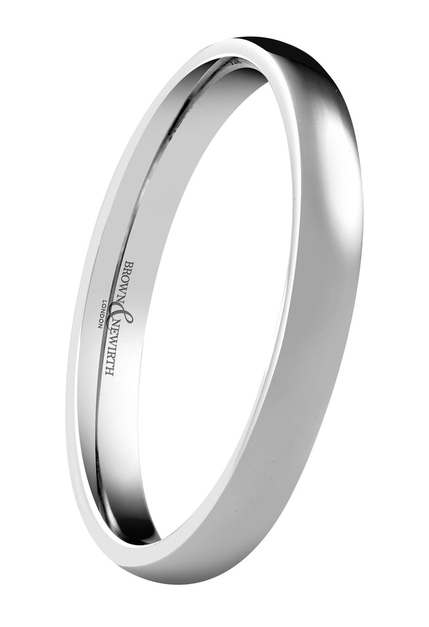 B&N Simplicity Wedding Ring 5mm