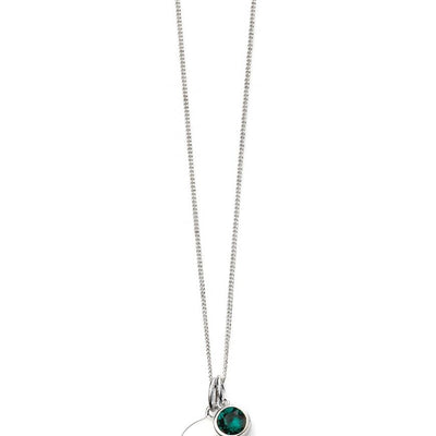 May Birthstone Pendant - Emerald