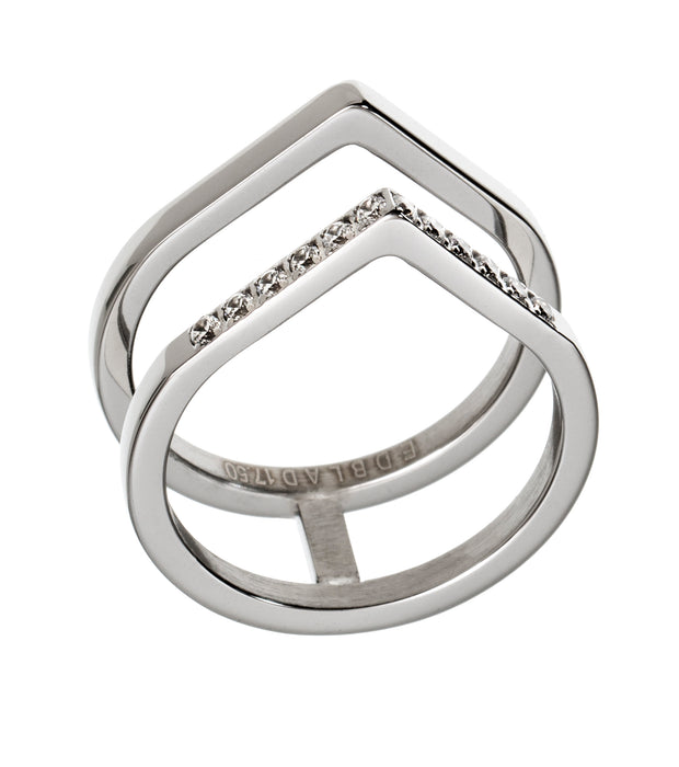 Edblad Valley Ring in Steel - LRG