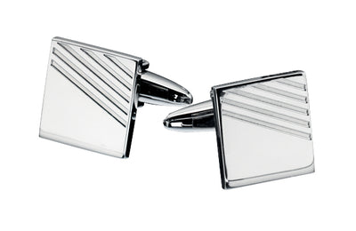 Fred Bennett Evolved Classic Cufflinks Stainless Steel