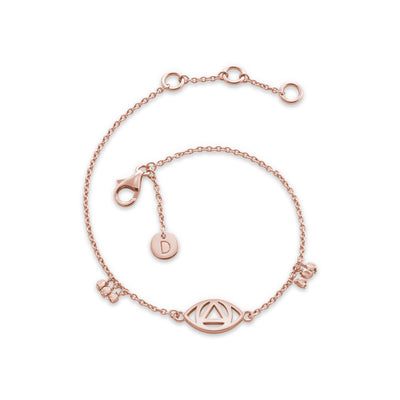 Daisy Evil eye Good karma Bracelet