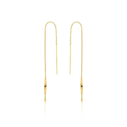 Ania Haie Threader Drop Earrings