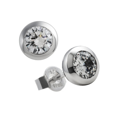 Carats Rubover 0.75ct studs