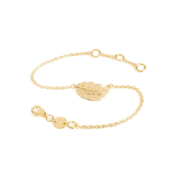 Daisy Natures Way Mulberry Leaf Bracelet