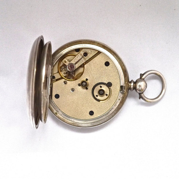 V8 Open faced Pocket Watch