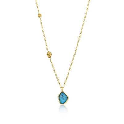 Ania Haie Turquoise Pendant Necklace