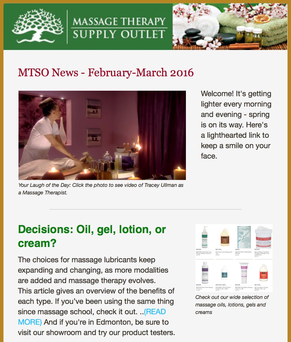 Feb-March Newsletter, 2016