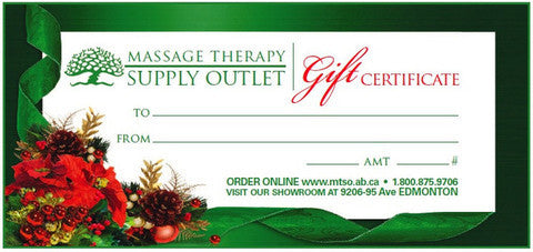 Christmas Gift Certificates from MTSO!